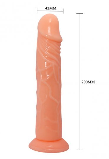 Waves of Pleasure Fantasy Vantuzlu Dildo