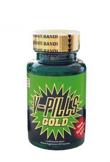 V-Pills Gold Bitkisel Ksül