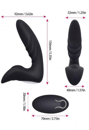 Bay Bayan Prostat Masaj Orgazm Vibratörü