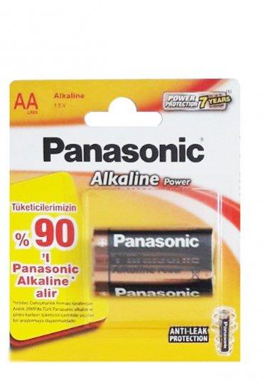 Panasonic Power Alkalin 2xAA Kalem Pil