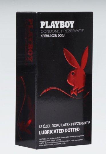 Playboy Dotted 12li Özel Kabartma Yüzeyli