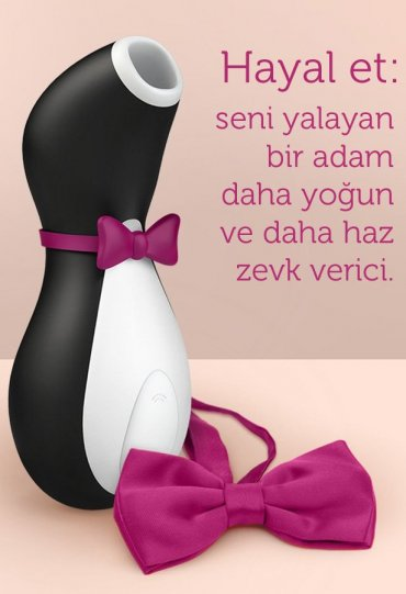 Satisfyer Pro Penguin Clitoral Oral Vibratör