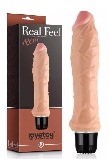 Real Feel 20 Cm Gerçekçi Vibratör