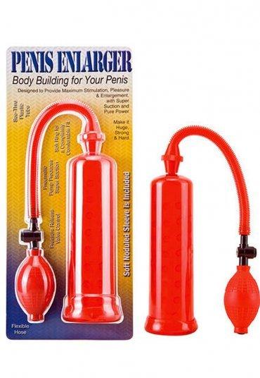 Penis Enlargement Kırmızı Penis Pompası