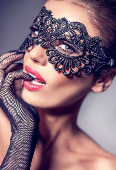 Şık Sexy Dantel Göz Maskesi