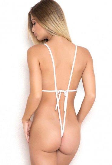 Nokta Shop Beyaz Dantel Fantazi İç Çamaşır