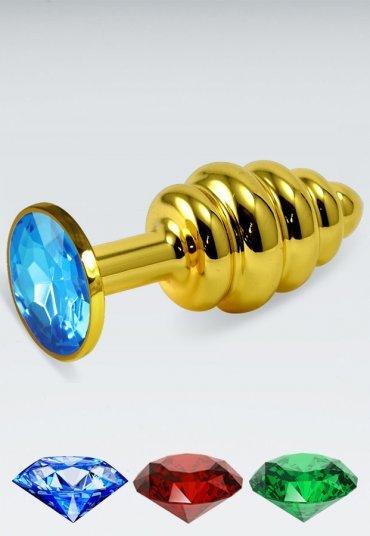 Küçük Boy Gold Anal Plug