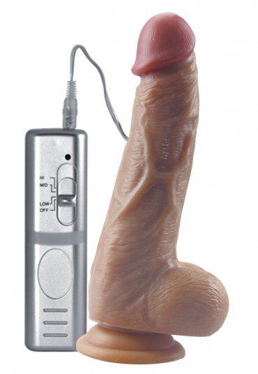 Gerçek Penis Kalıp 21 Cm Vibratör | 0545 356 96 07