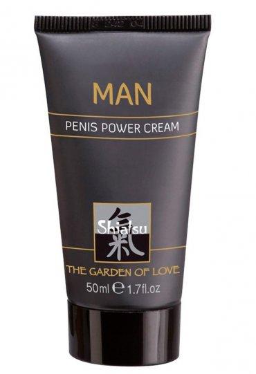Shiatsu Power Cream For Men | 0545 356 96 07