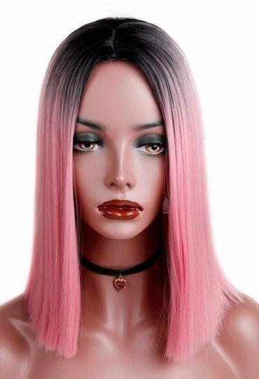 Cosplay Saç Peruk Orta Uzunlukta