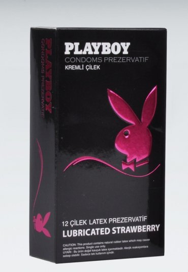 Playboy Strawberry 12 li Çilekli Kremli