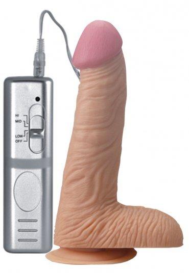 Gerçek Penis Kalıp Realistik Vibratör