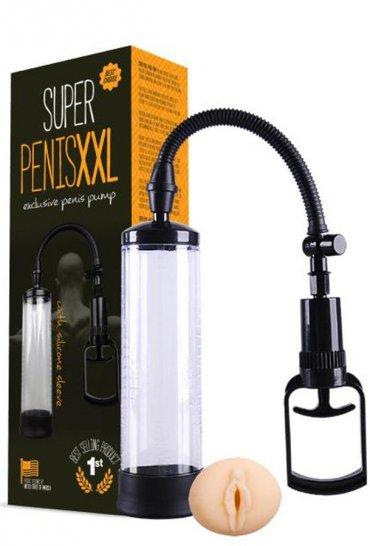 Xxl Penis Pompası Realistik Vajina Girişli