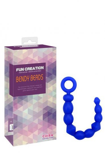 Fun Creation Bendy Beads Silikon Anal Tıkaç