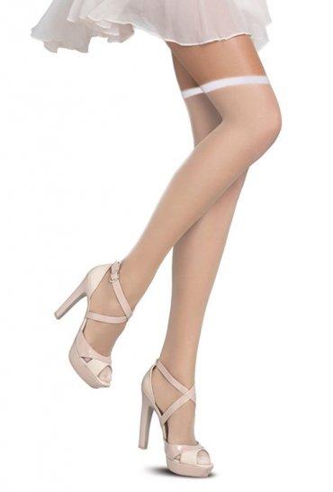 Slikon Standart Jartiyer Çorabı