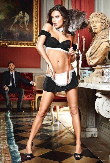 Sexy Hizmetçi Kostüm Takımı