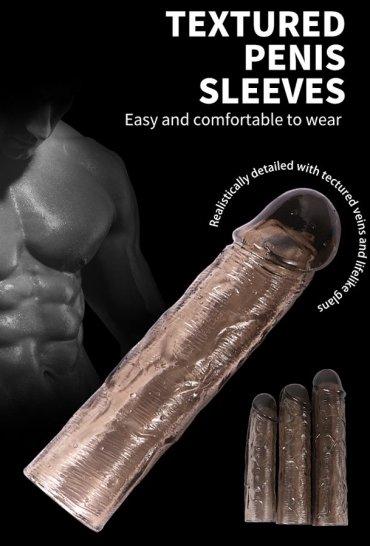 3 Adet Zenci Penis Kılıfı