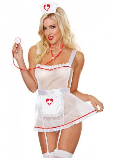 Sexy Hemşire Kostümü