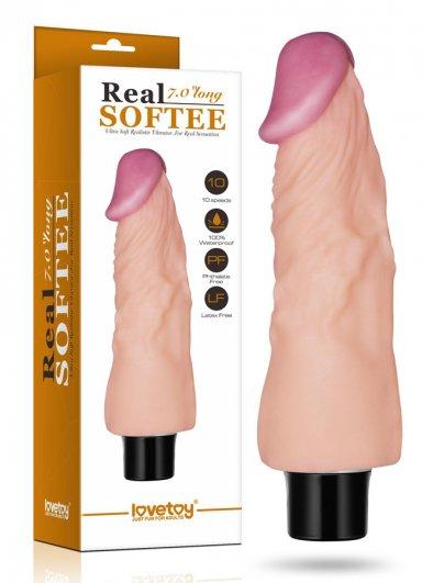Real Softee 18 Cm Gerçekçi Vibratör