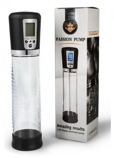 Tam Otomatik Passion Pump Penis Pompası