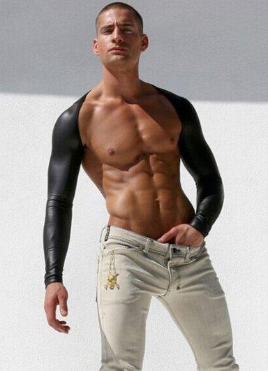 Mat Deri Görünümlü Erkek Kol Aksesuarı