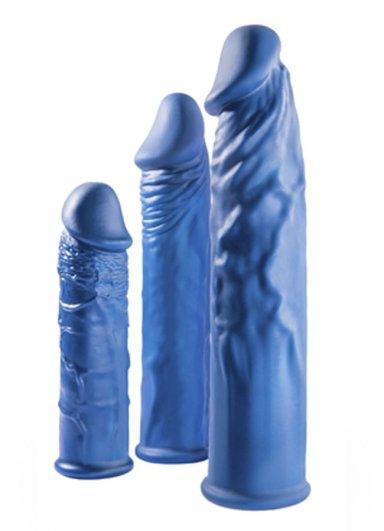Extender 3 lü Silikon Penis Kılıfı Set