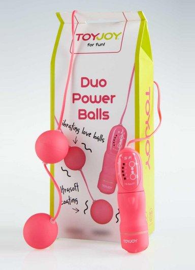 2 li Pembe Duo Balls Anal Vajinal Top