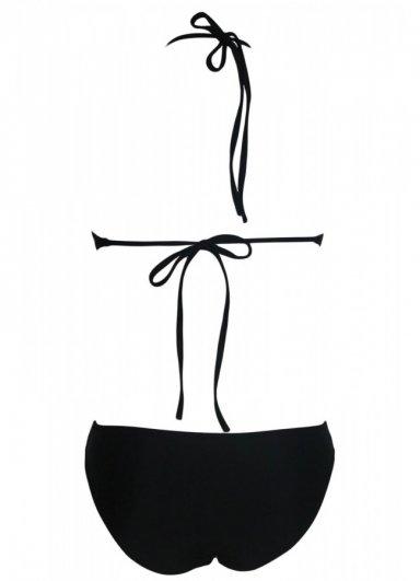Siyah Özel Tasarım Tankini Bikini