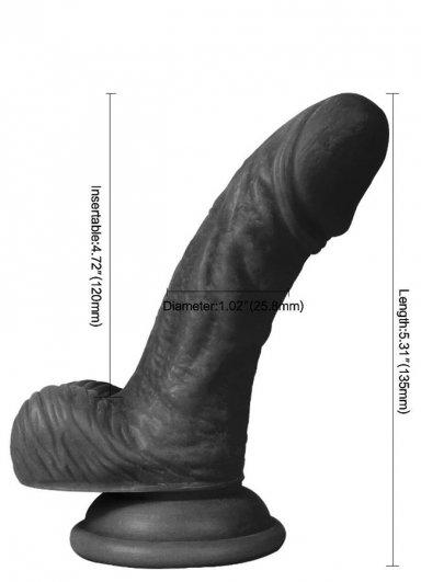Et Dokusu Zenci Realistik Penis 13 CM
