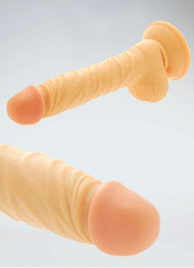Girl Style Realistik Vantuzlu Penis