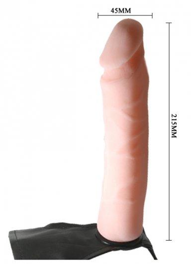 Ultra Harness Belden Bağlamalı Testissiz Penis