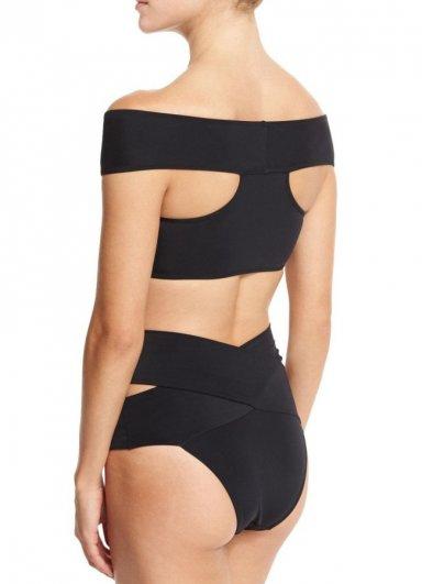 Siyah Özel Tasarım Bikini Takım