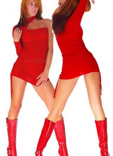 Nokta Shop Kırmızı Fantezi Giyim