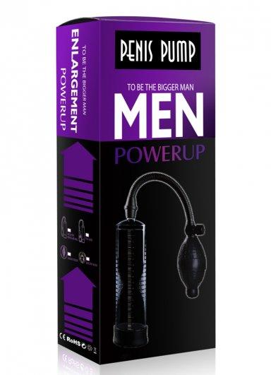 Men Powerup Tetikli Penis Pompası