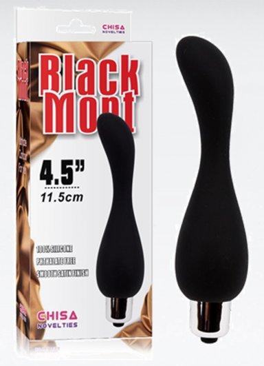 Black Mont Titreşimli Anal Tıkaç Plug