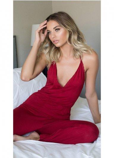 Kırmızı Pijama Takım