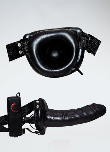 Robotic Zenci İçi Boş Belden Bağlamalı Penis
