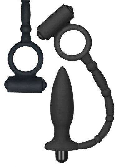 Titreşimli Halkalı Anal Vibratör Plug