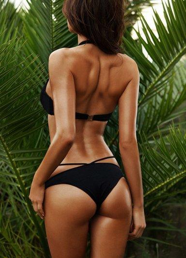 Angels Siyah Bikini Alt