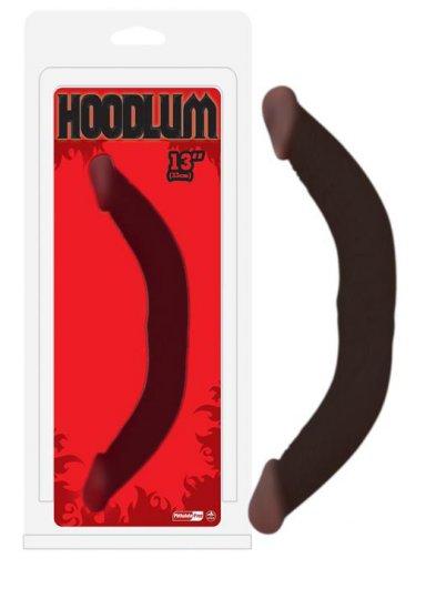 Hoodlum Çift Taraflı 33cm Zenci Dildo