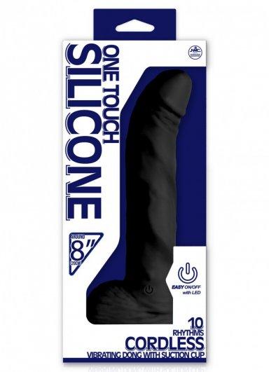 One Touch Silicone 20 Cm Kablosuz Vibratör