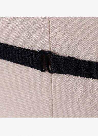 Siyah Harness 3 Şeritli Bralet Aksesuarı