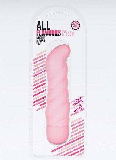 All Flavours Bükülebilir Titreşimli Silikon Vibratör