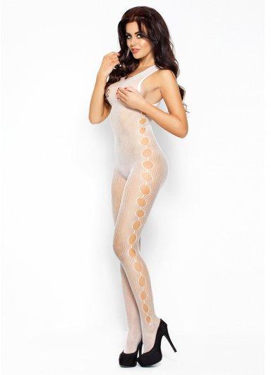 Fileli Seksi Siyah Vücut Çorabı