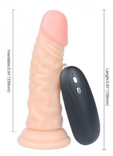 Et Dokusunda Titreşimli Süper Realistik Penis