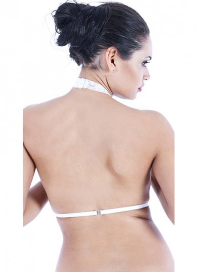 Beyaz Dantelli Vixsolette Bralet Aksesuarı