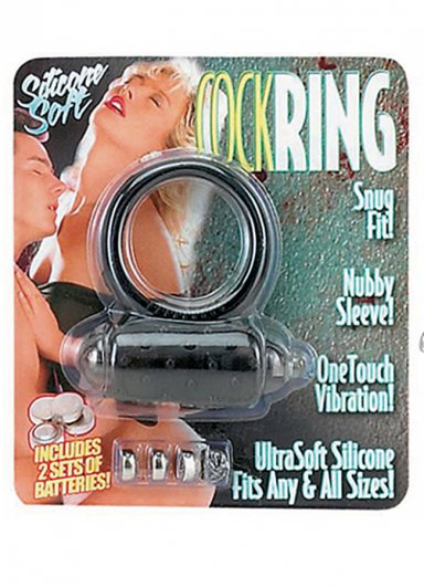 Soft Cock Ring Titreşimli Penis Halkası