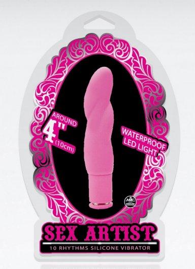 Sex Artist 10 Cm Mini Mor Vibratör