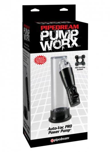 Pump Worx Auto Vacum Pro Penis Pompası