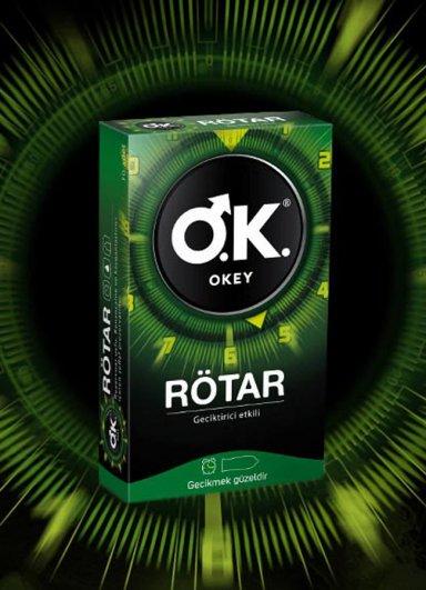 Okey Prezervatif Rötar 10'lu